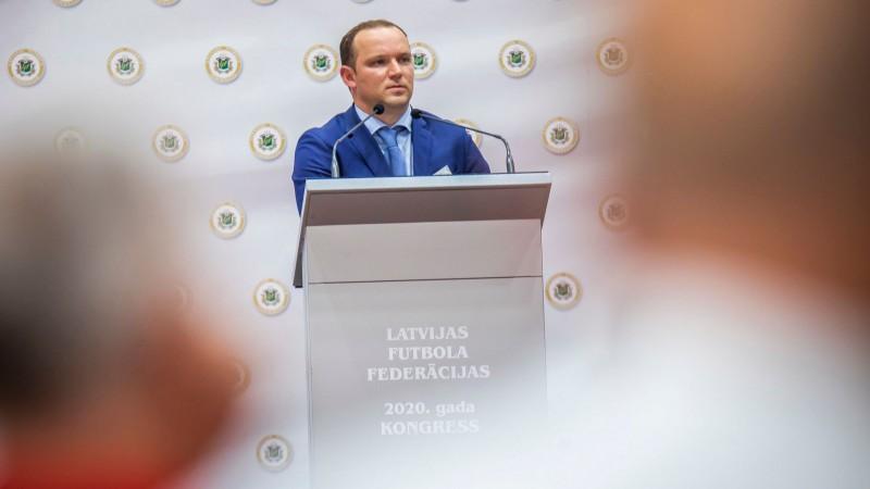 Krivuņecu apstiprina LFF Finanšu komitejā