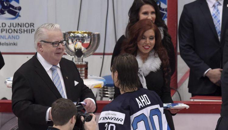 """IIHF viceprezidents: """"Fāzels apsolīja, ka izvērtēsim Baltkrievijas situāciju"""""""