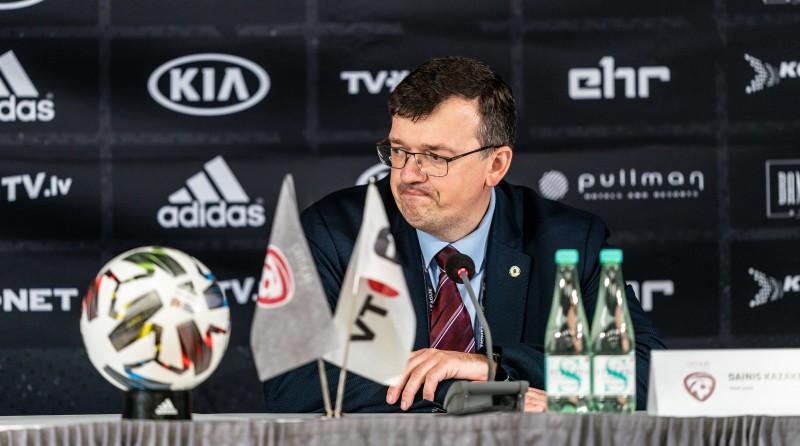 """Kazakevičs: """"Ģērbtuvē bija skarba saruna. Mums ir jānobriest un jāpieaug"""""""