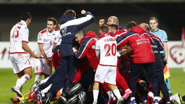 """Drausmas """"Daugavas"""" stadionā: Latvija ielaiž pēdējā minūtē un zaudē Maltai"""