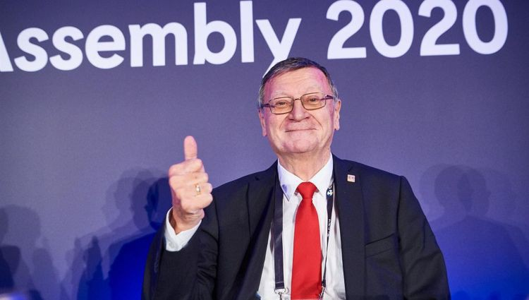 Boričičs pārvēlēts uz četriem gadiem par CEV prezidentu