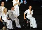 Foto: Riodežaneiro krāšņi atklāj paralimpiskās spēles