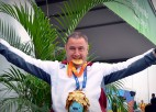Foto: Diska metējs Apinis triumfē Rio paralimpiskajās spēlēs