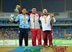 Foto: Lodes grūdējs Bergs iegūst Rio paralimpisko bronzu