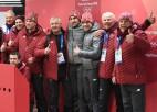 Foto: Melbārdis/Strenga nopelna Phjončhanas olimpisko bronzu