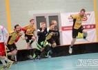 """Foto: """"Rubene-1"""" bullīšos izcīna vīriešu 1. līgas čempionu kausu"""