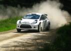 Andersons sajūsmā par jauno ''Ford Fiesta RS WRC'' automašīnu