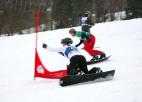 Snovborda slaloma meistari pirmās godalgas sadalīs Siguldas kausā