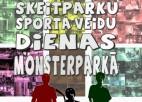 Tuvojas skeitparku sporta veidu dienas Monsterparkā