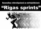 """Noslēgušās sacensības rollerslēpošanā un skrituļslidošanā """"Rīgas Sprints"""""""