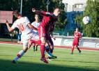 Latvijas U21 izlase piekāpjas Šveicei