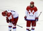 Krievijas izlases treneris atvainojas līdzjutējiem, Ovečkins pagaidām bez emocijām