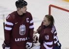 Hokeja dzimtene Kanāda 54. minūtē salauž vareno latviešu sirdis