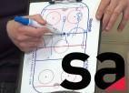 """Video: SA+ hokejs: Sorokins skaidro taktiskās nianses, kā jāspēlē pret """"Donbass"""""""