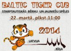 """""""Baltijas Tīģerēns 2014"""" pulcēs jaunos cīņas sporta pārstāvjus"""