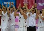 Studentu basketbola izlasei 1/4fināls pret favorīti Vāciju
