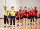 ''Serviti'' ar uzvaru kļūst par Baltijas handbola līgas līderiem