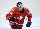 Šveicei ierindā četri NHL spēlētāji, mērķis - ceturtdaļfināls