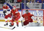Čehi pārliecinoši uzvar, sagādājot baltkrieviem piekto neveiksmi pēc kārtas