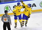 Zviedrija nepamana ASV ceļā uz finālu un svin 16. uzvaru pēc kārtas