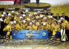 Video: Zviedrija nervus kutinošā finālā kļūst par pasaules čempioni