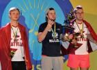 Caicam un Sīlim otrā un trešā vieta Eiropas čempionātā galda hokejā