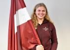 Latvijas karognesēja Eiropas jaunatnes Ziemas Olimpiādē būs kalnu slēpotāja Burkovska