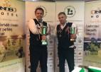 Artūrs Ķeņģis kļūst par Latvijas čempionu snūkerā