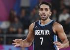 Viens no Argentīnas izlases līderiem Kampaso uzvarā pār Krieviju savaino potīti