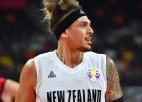 Abām komandām gūstot vairāk nekā 100 punktu, Jaunzēlande sakauj Turciju