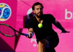 """Gulbis """"Challenger"""" turnīru Spānijā iesāk ar pārliecinošu uzvaru pār Donskoju"""