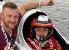 Pasaules ātrumlaivu pilots Lijcs debitēs minirallijā