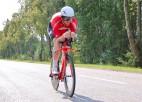 Vosekalns pirmoreiz karjerā uzvar Latvijas čempionātā individuālajā braucienā