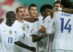 Francija minimāli uzvar Portugāli, Šveice mazākumā nenotur uzvaru pār Spāniju