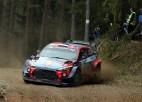 WRC čempionam Tanakam pārliecinoša uzvara Igaunijā