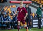 Regžam piektie vārti kvalifikācijas ciklā, U21 izlasei zaudējums Polijā