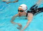 Baikova Kazaņā sasniedz valsts rekordu 1500 metru brīvā stila peldējumā