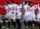 """En Nesiri <i>hat-trick</i>, """"Sevilla"""" piecu vārtu spēlē pieveic """"Real Sociadad"""""""