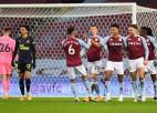 """""""Aston Villa"""" dominē un izcīna pirmo uzvaru šajā gadā"""