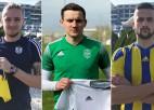 """""""Liepājai"""" Baltkrievijas gada futbolists, """"Ventspilij"""" serbi, Gulbis lido uz ziemeļiem"""
