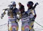 Norvēģija pirmo reizi uzvar komandu sacensībās PČ kalnu slēpošanā
