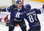 Sezonas labākais snaiperis Jaškins tiek atzīts par KHL februāra labāko uzbrucēju