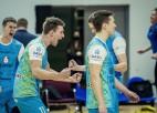 Jēkabpils ''Lūši'' kā pirmie iekļūst Latvijas volejbola čempionāta finālā
