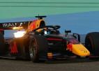 """Igauņu F1 cerība Vipss pierāda, ka būs viens no """"Formula 2"""" līderiem"""