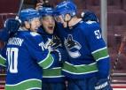 ''Canucks'' pēc Covid-19 pauzes atgriežas ar uzvaru papildlaikā pār ''Maple Leafs''