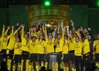 Holanns un Sančo izrēķinās ar ''Leipzig''; Dortmunde piekto reizi izcīna Vācijas kausu