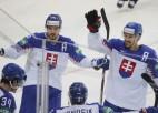 Slovākija trešajā periodā salauž dāņu pretestību un izcīna ceturto uzvaru