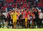 ''Brentford'' Vemblijā sakauj ''Swansea'' un pirmo reizi spēlēs Premjerlīgā