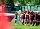 Noiera 100. spēlē Latvija Diseldorfā aizvadīs pārbaudes spēli pret titulēto Vāciju