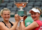 """Klāt neprognozējamā """"French Open"""" fināls: Pavļučenkova vai Krejčīkova?"""